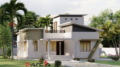 Photo of 835 Sq Ft 2BHK Contemporary Style House and Free Plan, 15 Lacks