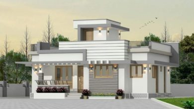 Photo of 850 Sq Ft 2BHK Fusion Style Single Floor House and Free Plan, 13 Lacks