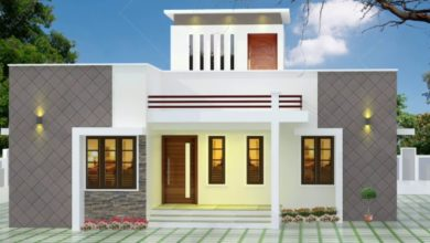 Photo of 893 Sq Ft 2BHK Fusion Style Single-Storey House and Free Plan, 13.50 Lacks