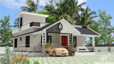 Photo of 957 Sq Ft 2BHK Traditional Style Single-Storey House and Free Plan