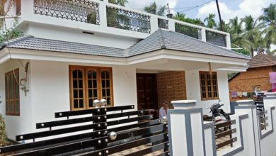 Photo of 960 Sq Ft 3BHK Modern Single-Storey House and Free Plan, 15 Lacks