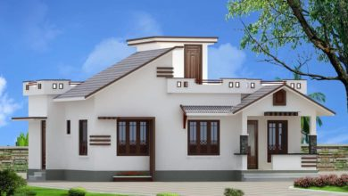 Photo of 968 Sq Ft 2BHK Cotemporary Style Single Floor House and Free Plan