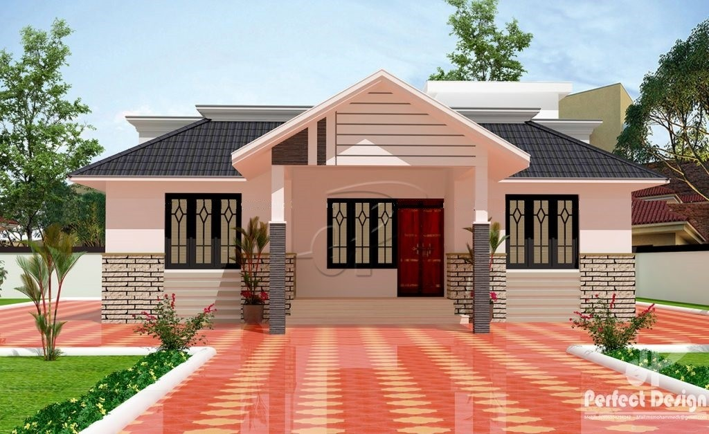 1150 Sq Ft 3BHK Traditional Style Beautiful House and Free Plan