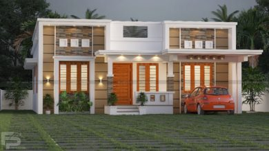 Photo of 1165 Sq Ft 3BHK Modern Single Floor House and Free Plan