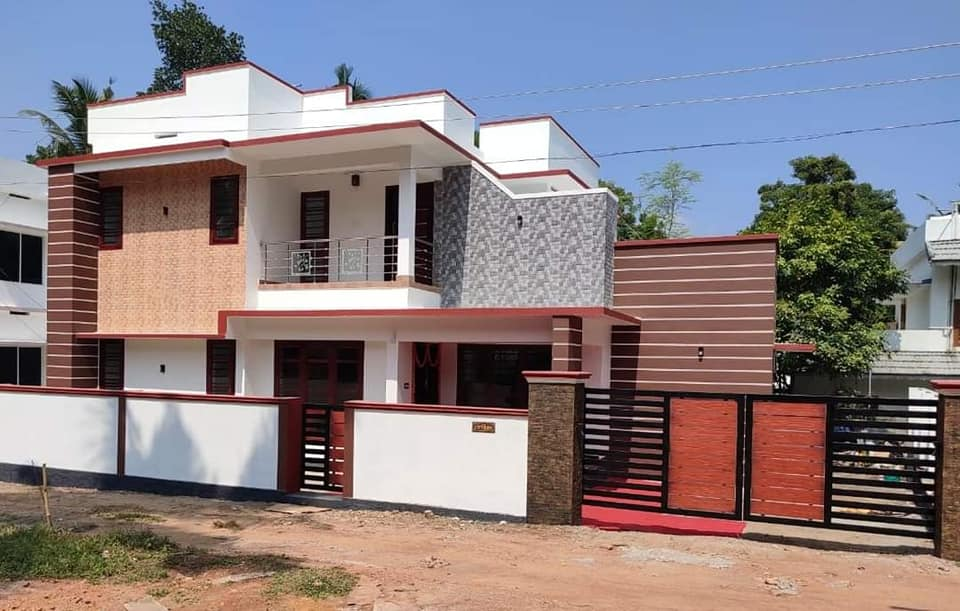 1420 Sq Ft 3BHK Modern Two-Storey House and Free Plan