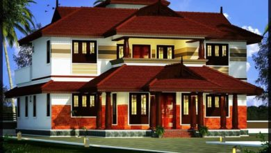 Photo of 2156 Sq Ft 4BHK Traditional Style Two-Storey House and Free Plan