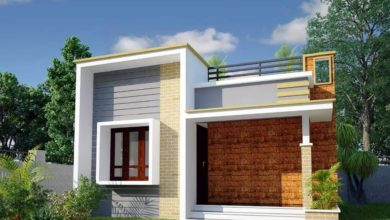 Photo of 520 Sq Ft 2BHK Modern Style Single Floor House and Free Plan