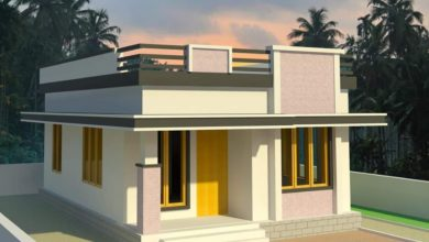 Photo of 750 Sq Ft 2BHK Modern Single Floor House and Free Plan, 10 Lacks