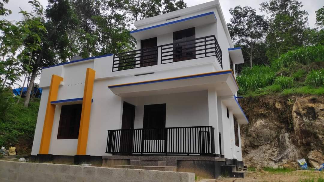 756 Sq Ft 2BHK Two-Storey Beautiful House and Free Plan