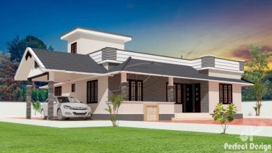 Photo of 1180 Sq Ft 3BHK Traditional Style Beautiful House and Free Plan, 18 Lacks