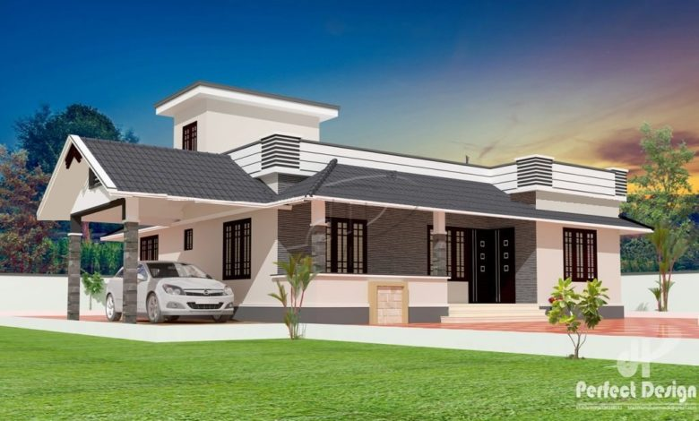 1180 Sq Ft 3BHK Traditional Style Beautiful House and Free Plan, 18 Lacks