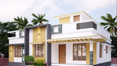 Photo of 1250 Sq Ft 3BHK Modern Single Floor House and Free Plan, 18 Lacks