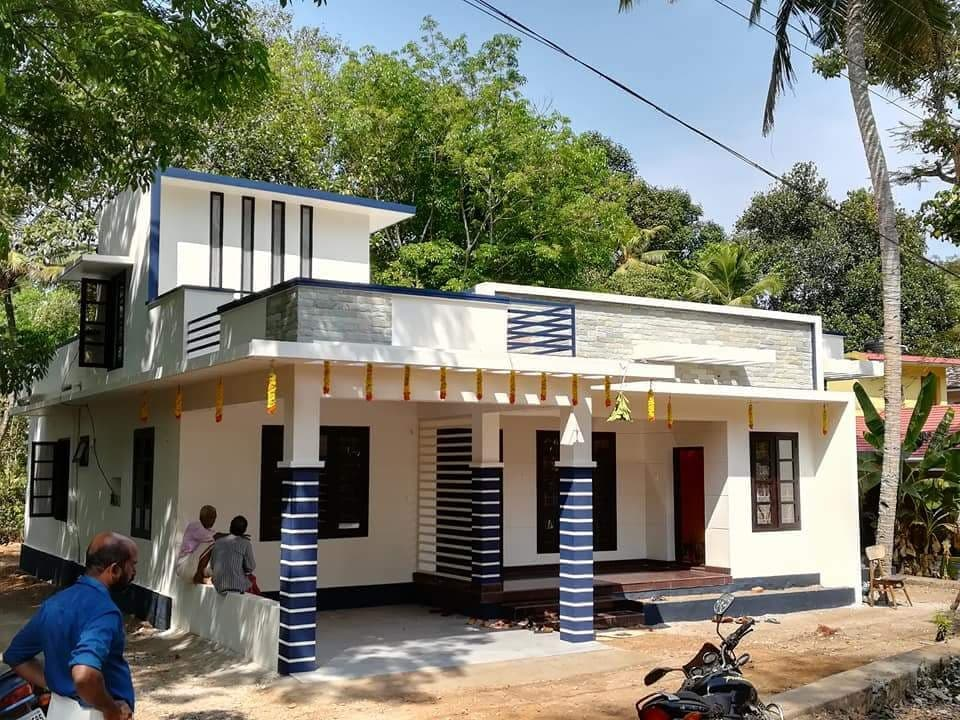 1290 Sq Ft 3BHK Modern Single Floor House and Free Plan