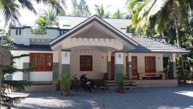 Photo of 1292 Sq Ft 3BHK Beautiful Single Storey House and Free Plan