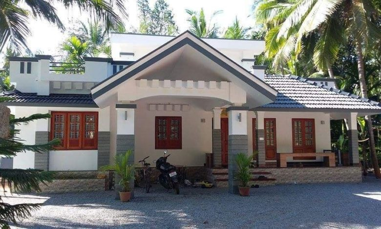 1292 Sq Ft 3BHK Beautiful Single Storey House and Free Plan