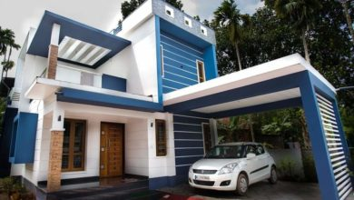 Photo of 1650 Sq Ft 4BHK Box Type Two-Storey House and Free Plan