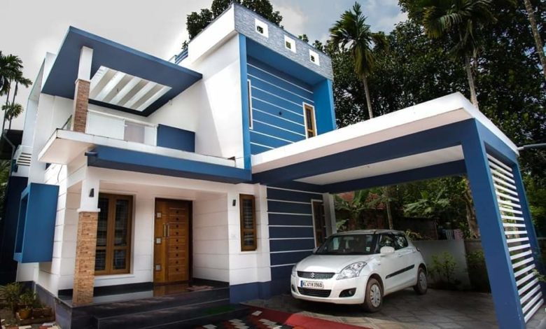 1650 Sq Ft 4BHK Box Type Two-Storey House and Free Plan