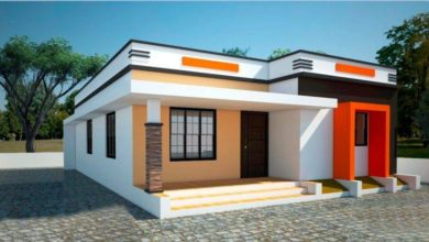 Photo of 780 Sq Ft 2BHK Modern Single Floor Home and Free Plan, 11.5 Lacks