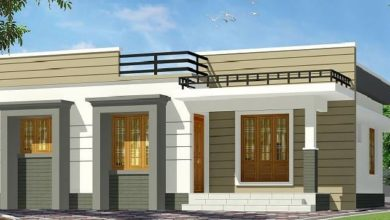 Photo of 875 Sq Ft 2BHK Contemporary Style Home and Free Plan, 13 Lacks
