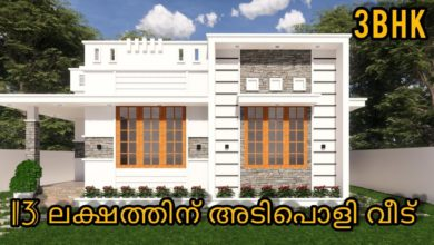 Photo of 930 Sq Ft 3BHK Modern House at 4 Cent, Free Plan, 13 Lacks