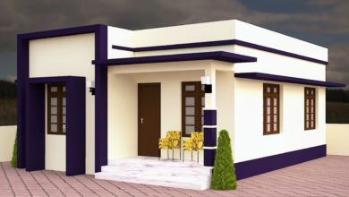 Photo of 572 Sq Ft 2BHK Modern Single Floor House and Free Plan, 10 Lacks