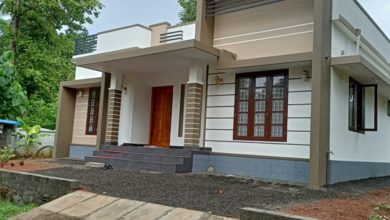 Photo of 1050 Sq Ft 3BHK Modern Single Floor Home and Free Plan, 15 Lacks