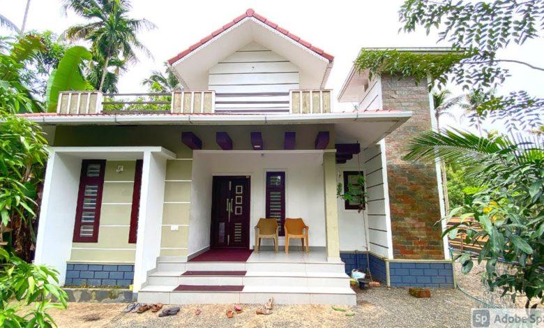 1093 Sq Ft 2BHK Modern Single Floor House, 16 Lacks