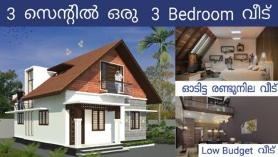Photo of 1202 Sq Ft 3BHK Traditional Style Two-Storey House and Free Plan, 20 Lacks