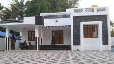 Photo of 1286 Sq Ft 3BHK Box Style Single Floor Home and Free Plan