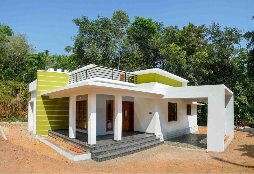 1650 Sq Ft 3BHK Box Shape Single-Storey Home and Free Plan