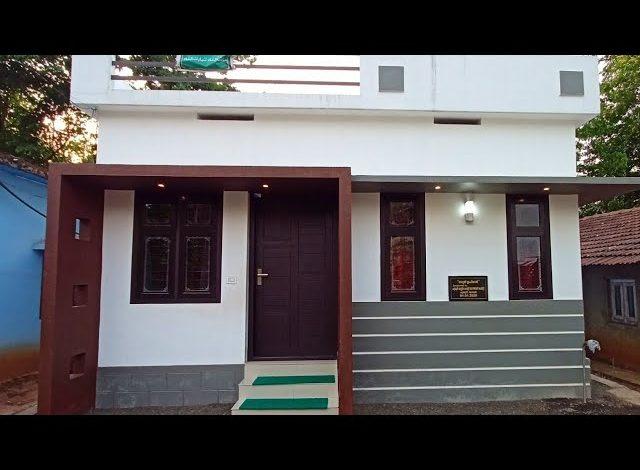 452 Sq Ft 2BHK Beautiful Single Floor House at 2 Cent Plot, 5.60 Lacks
