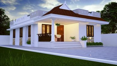 Photo of 733 Sq Ft 2BHK Traditional Style Low Budget Home and Free Plan