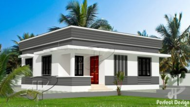 Photo of 829 Sq Ft 2BHK Modern Single-Storey Home and Free Plan, 12 Lacks