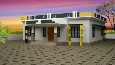 Photo of 1000 Sq Ft 3BHK Modern Single Floor House and Free Plan, 15 Lacks