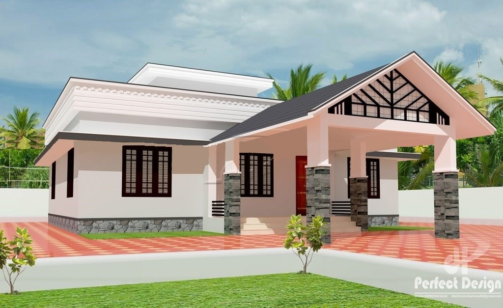 1108 Sq Ft 3BHK Traditional Style Beautiful Home and Free Plan, 16 Lacks