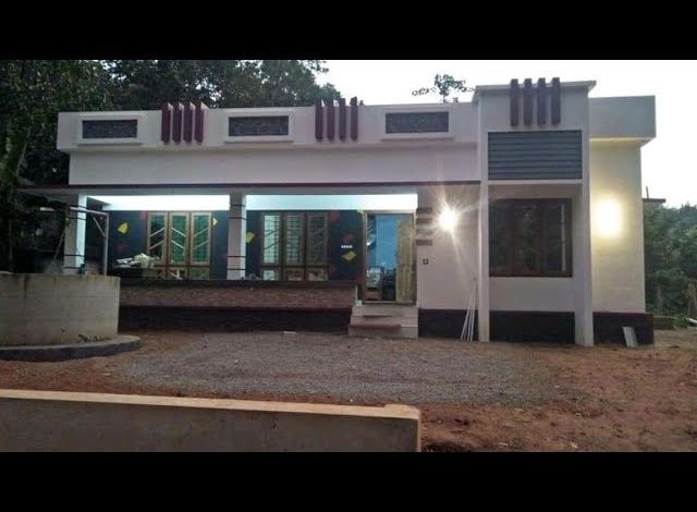 1182 Sq Ft 3BHK Beautiful Single Floor House and Free Plan, 16 Lacks