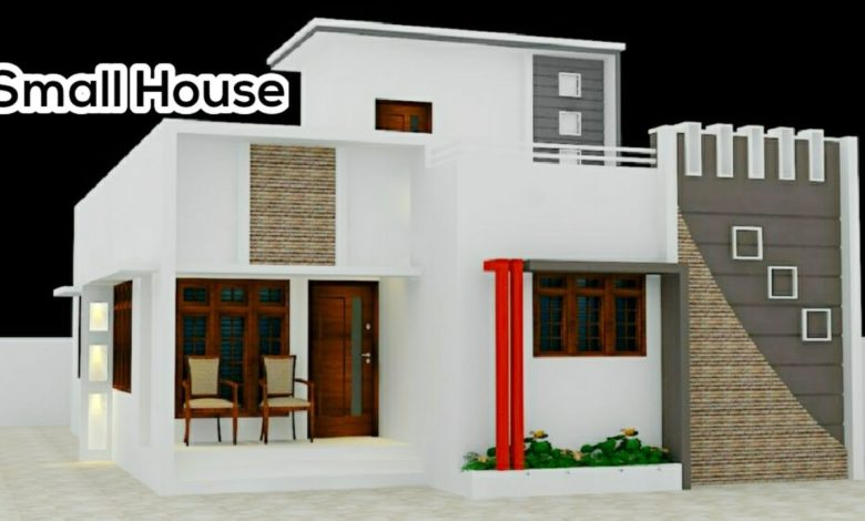 1300 Sq Ft 4BHK Contemporary Style Two-Storey Home and Free Plan