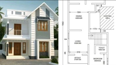Photo of 1365 Sq Ft 3BHK Beautiful Two-Storey Home and Free Plan, 20 Lacks