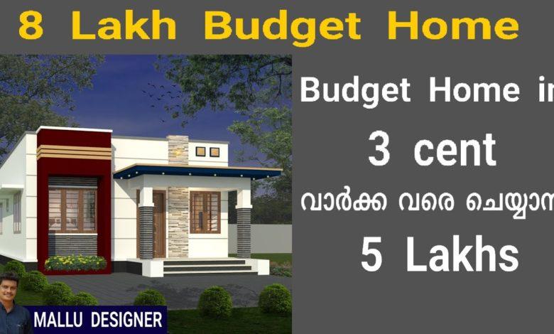 529 Sq Ft 2BHK Modern Single Floor Home and Free Plan, 8 Lacks