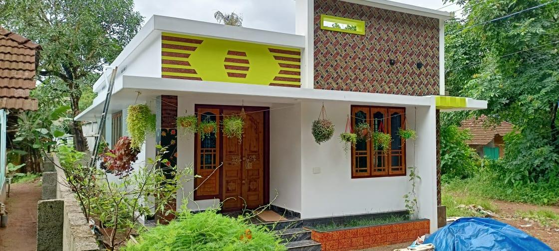 700 Sq Ft 2BHK Modern Single Floor Home and Free Plan, 10 Lacks