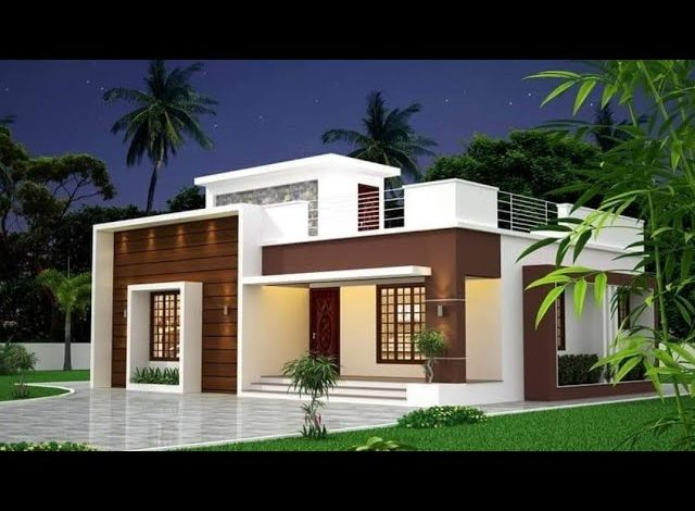 800 Sq Ft 2BHK Modern Single Floor Home and Free Plan