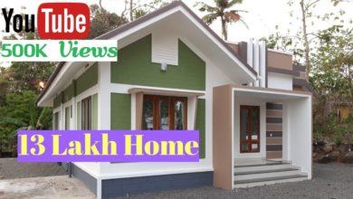 Photo of 867 Sq Ft 2BHK Modern Single Floor House, 13 Lacks