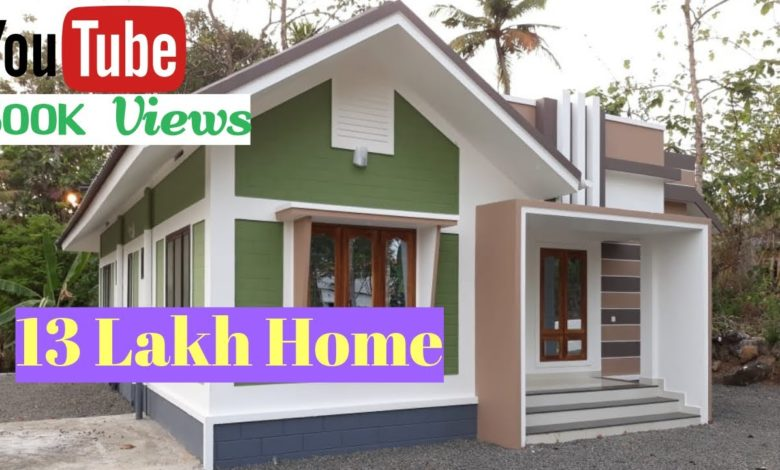 867 Sq Ft 2BHK Modern Single Floor House, 13 Lacks