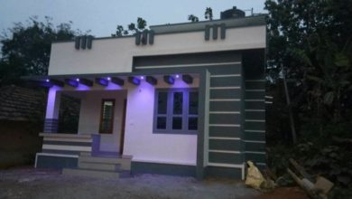 Photo of 900 Sq Ft 2BHK Modern Single Floor House and Free Plan, 12 Lacks
