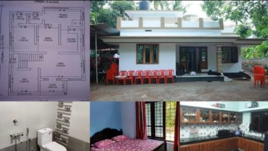 Photo of 978 Sq Ft 2BHK Low Budget Single Floor House and Free Plan, 13 Lacks