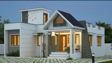 Photo of 1272 Sq Ft 3BHK Contemporary Style Single-Storey Home and Free Plan