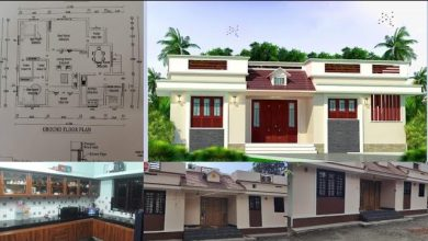 Photo of 1000 Sq Ft 3BHK Traditional Style Single-Storey House and Free Plan, 16 Lacks