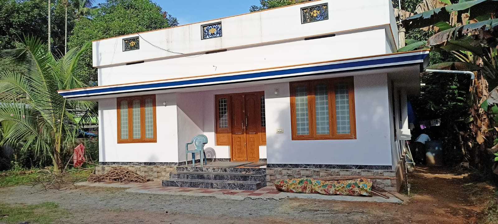 1026 Sq Ft 3BHK Beautiful House and Free Plan, 15 Lacks