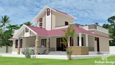 Photo of 1292 Sq Ft 3BHK Traditional Style Beautiful Home and Free Plan