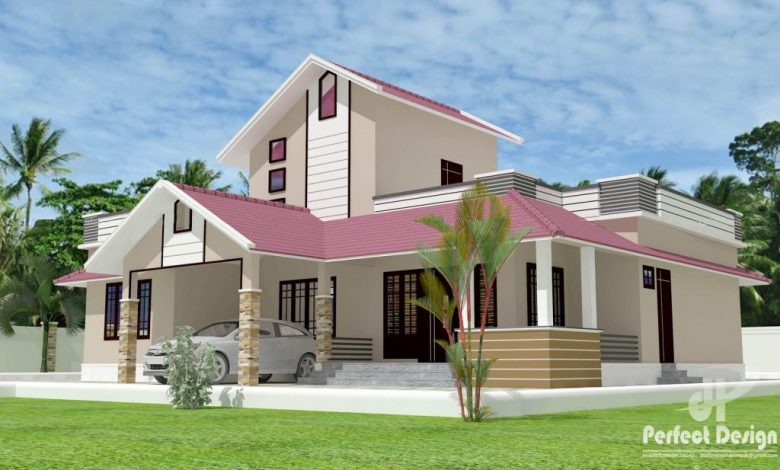 1292 Sq Ft 3BHK Traditional Style Beautiful Home and Free Plan